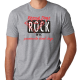 Rescue dogs rock grey unisex t-shirt