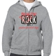 Rescue dogs rock zipped hoodie