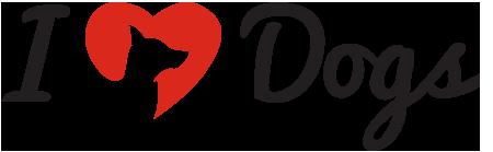 I heart dogs logo for blogs